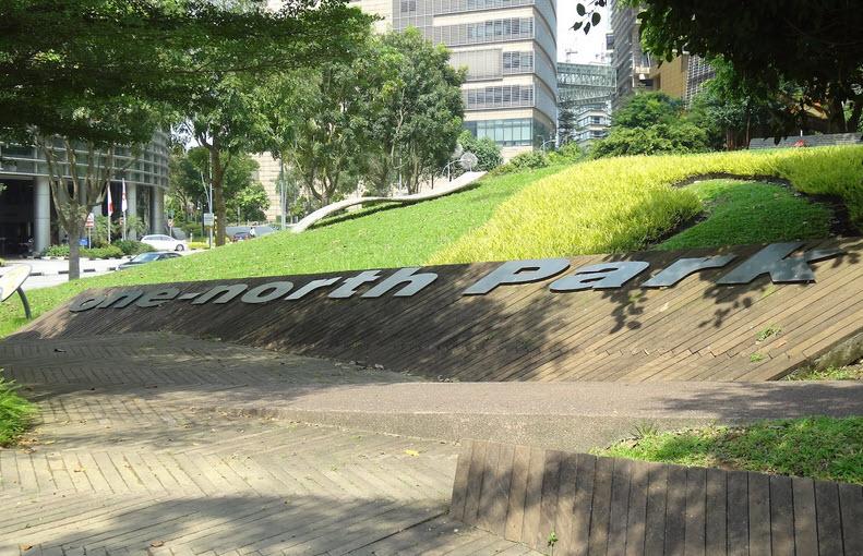 Slim Barracks Rise Condo at Singapore Buona Vista MRT Station